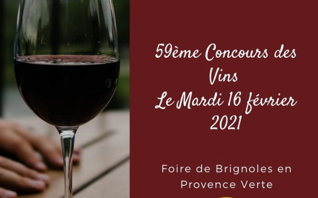 Le Concours des Vins de la Foire de Brignoles se digitalise